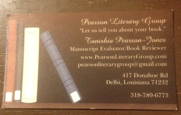 Pearson Literary Group-Editor
