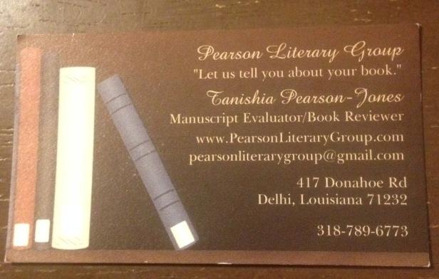 Pearson Literary Group-Editor