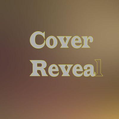 Cover Reveal Template